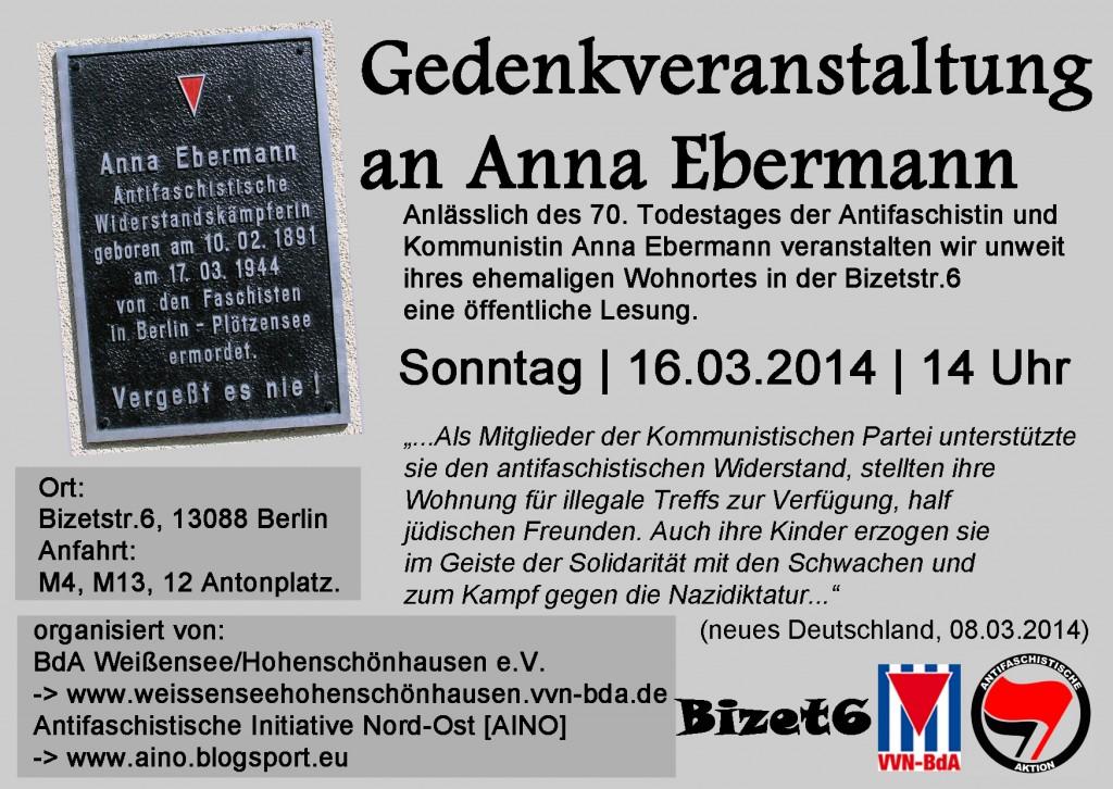 Gedenken an Anna Ebermann Kopie